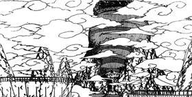 Вход в деревню облаков
